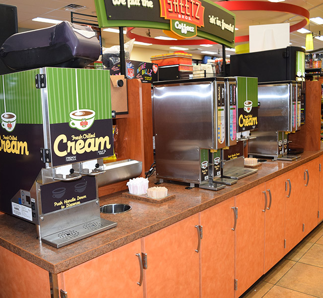 Convenience Store Cabinetry & Millwork