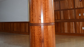 PSU Wrapped Column and Paneled Wall