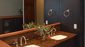 residential bathroom counters
